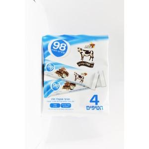 92 Calories Barres de chocolat au lait