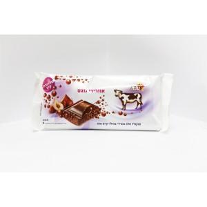 Avec de l'air de dans chocolat au lait