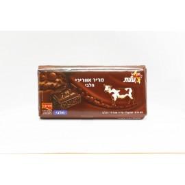 Avec de l' air de dans mi-amer chocolat