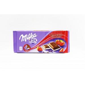 Alpine chocolat au lait Fraise et le yogourt