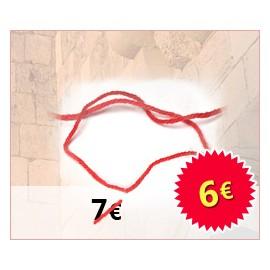 Hilo Rojo (Kabbalah) Jerusalem, set de 5 hilos rojos del \u0026quot;Kotel\u0026quot;