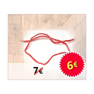 Red string (Kabbalah) - Red thread bracelet Kotel from Jerusalem - ISRAEL