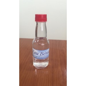 Holy water of the holy land