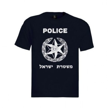 T-shirt Israel Police
