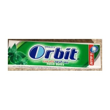 Orbit tab Chewing gum spearmint flavor