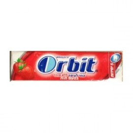 Orbit chewing gum tablet strawberry flavor