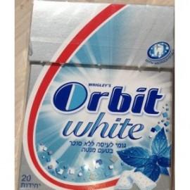 Orbit White mint flavor