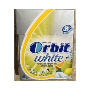 Orbit dragees gout fruits
