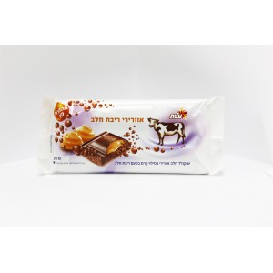 Aerated milk chocolate