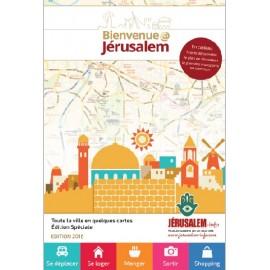 Carte de Jerusalem transports Guide Bienvenue@Jerusalem