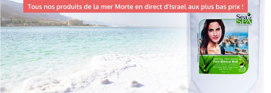 Productos y tratamientos del Mar Muerto