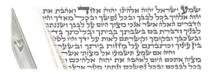 Kosher Mezuzah Scrolls